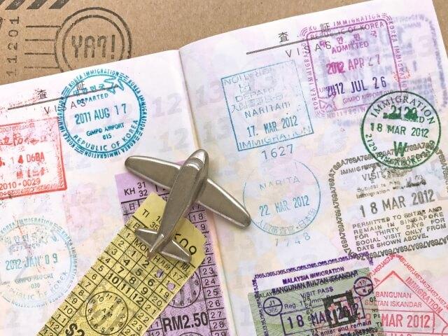 CA面接,英語,パスポートの写真