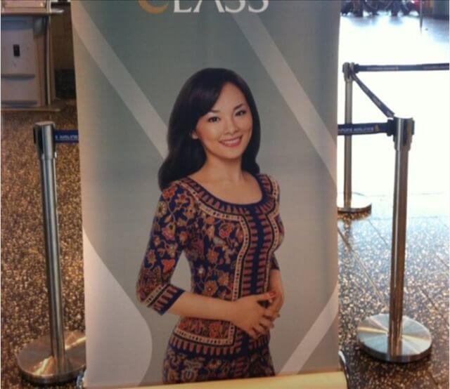 シンガポール航空 CA 美人 キャビンアテンダントさんの写真