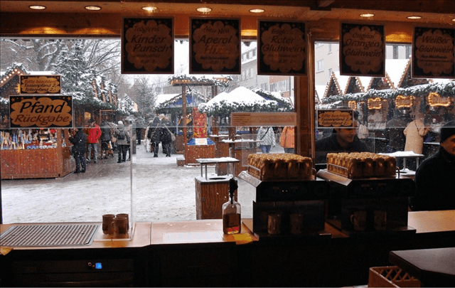ホットワインスタンド ドイツ クリスマスマーケット