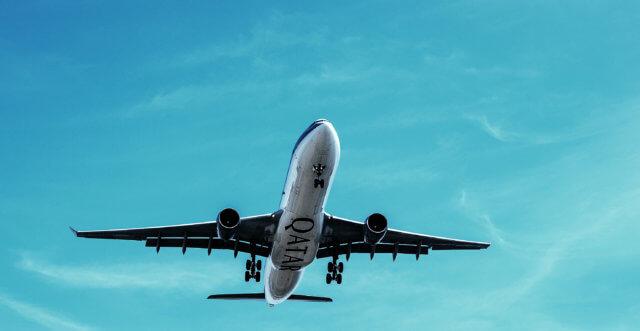 カタール航空CA 飛行機