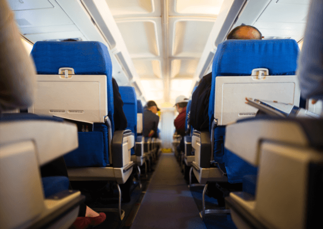 機内での服装 冬ヨーロッパ