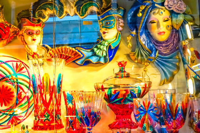 Colorful Venetian Glass